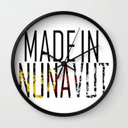 Made in Nunavut Wall Clock