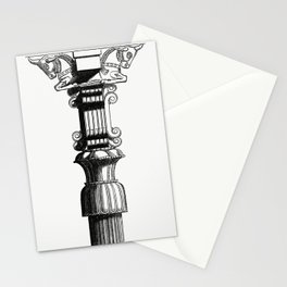 Persian Column (1862) from Gazette Des Beaux-Arts a French art review Stationery Cards