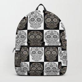 Chess Skull Backpack