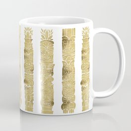 Tiki Totems – Gold Palette Coffee Mug