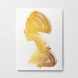 See - Gold Edition Metal Print