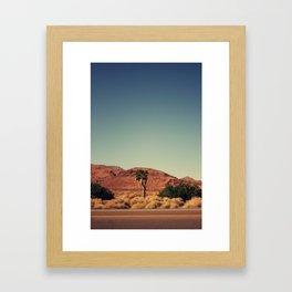 Joshua Tree. Framed Art Print