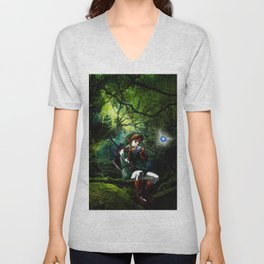 legend of zelda link Unisex V-Neck