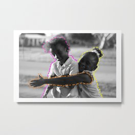 Young & Happy Metal Print
