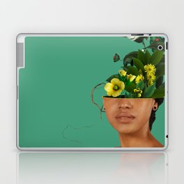 Lady Flowers VII Laptop & iPad Skin