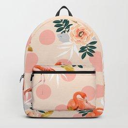 Flamingo Jazz #society6 #decor #pattern Backpack