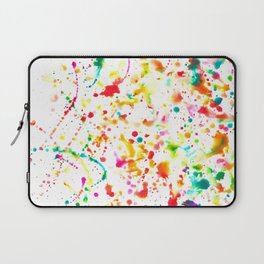 Sunday Splatter Laptop Sleeve