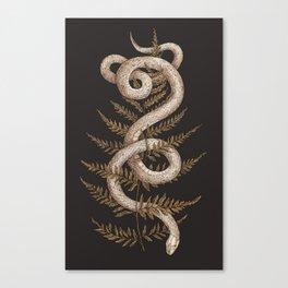 The Snake and Fern Leinwanddruck