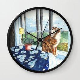 Scandia Cat Wall Clock