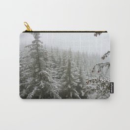 Frosty Forest Carry-All Pouch