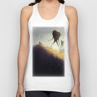 giants Tank Tops featuring The Earth Giants by Bess A. Yontz