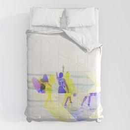 GLITCH NATURE #11: Beach Comforters