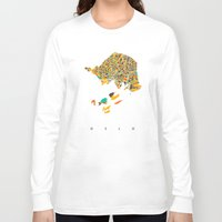 oslo Long Sleeve T-shirts featuring Oslo  by Nicksman