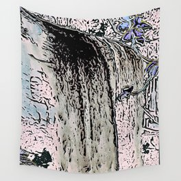 "series waterfall ""Cachoeira Grande"" I Wall Tapestry"