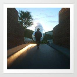 """Enlightened Path"" Art Print"