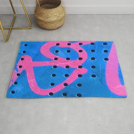 Original Street Art Graffiti Modern Art Photograph Rug