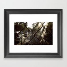 Trains Framed Art Print