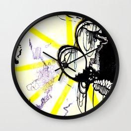 Loop City Wall Clock