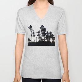 Date Palm Trees 3 Unisex V-Neck