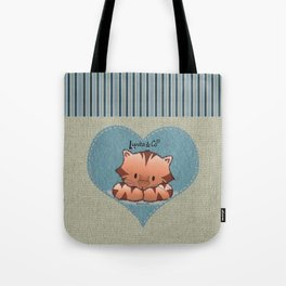 Sweet little tiger Tote Bag