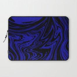 Blue marble pattern #3 Laptop Sleeve