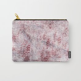 Queen pink abstract watercolor Carry-All Pouch