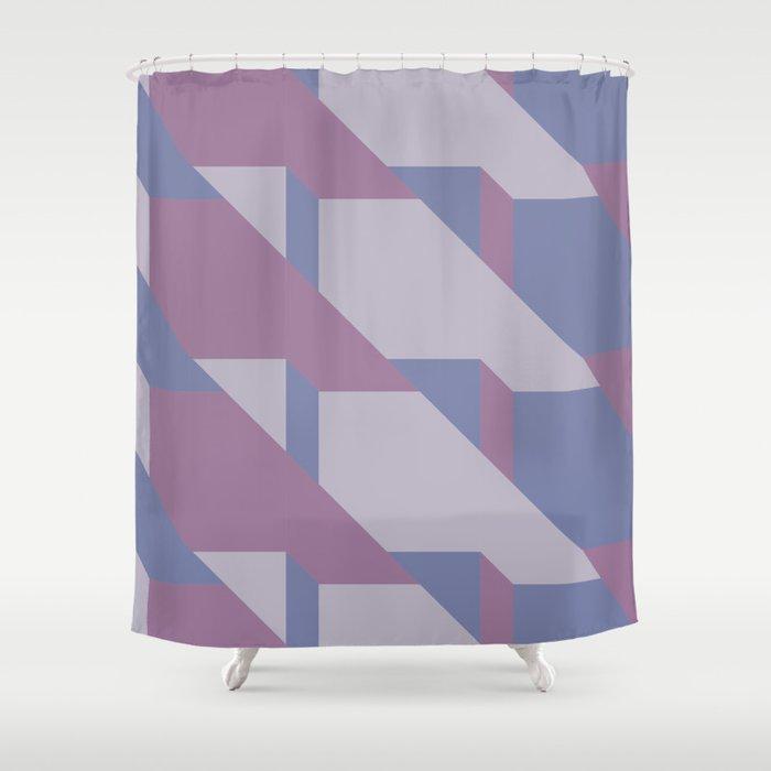 Lavender Way #society6 #lavender #pattern Shower Curtain