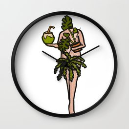 Keep It Natural Wall Clock