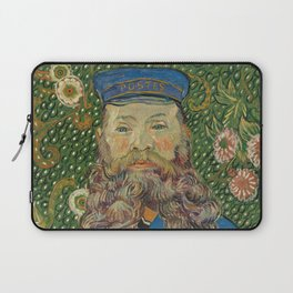Van Gogh Postman- Portrait of Joseph Roulin Laptop Sleeve