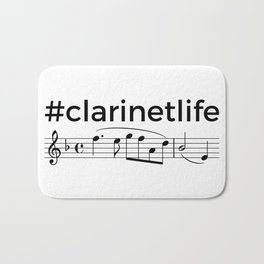 #clarinetlife Bath Mat