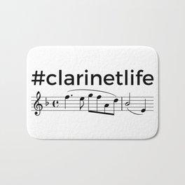 #clarinetlife Bath Mat