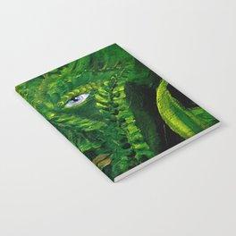 Garden Guardian Hurricane Gnome Notebook
