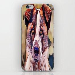 The Norwegian Elkhound iPhone Skin