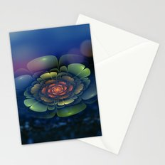 A Beautiful Fractal Flower 2 Stationery Cards