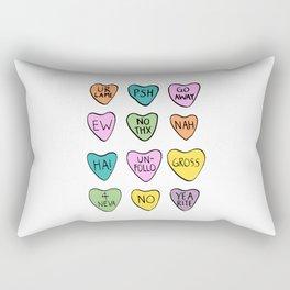 Anti Hearts Rectangular Pillow