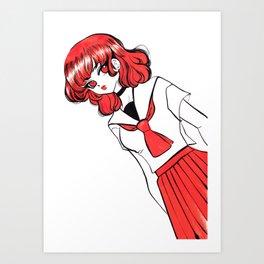 chinatsu Art Print