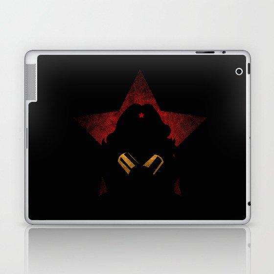 SuperHeroes Shadows : WonderWoman Laptop & iPad Skin