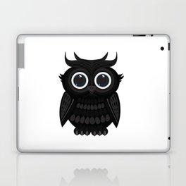 Black Owl Laptop & iPad Skin