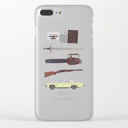 Groovy Clear iPhone Case