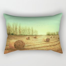 Autumn Rolls Along Rectangular Pillow