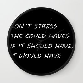 Don't stress Wall Clock
