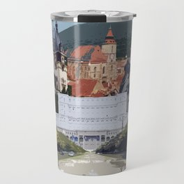 Romania Collage Travel Mug