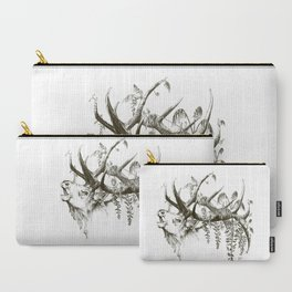 Wisteria Elk Carry-All Pouch