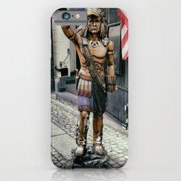 Sad Statue iPhone Case