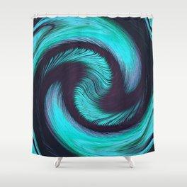 Dazed & Diced Shower Curtain