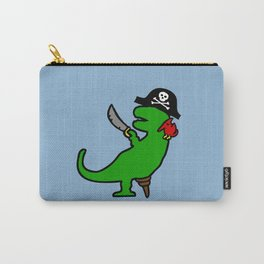 Pirate Dinosaur - T-Rex Carry-All Pouch