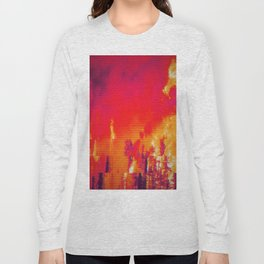 Burning Forest Long Sleeve T-shirt