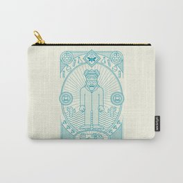 Crystal Blue Jam  Carry-All Pouch