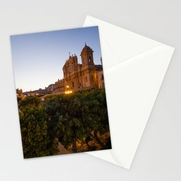 Noto by Night, Italy Stationery Cards