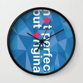 Not Perfect But Original  Wall Clock